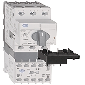 Allen-Bradley 140M-F-PNC37 Breaker, Connecting Module, 25-45A, For 140M-F to 100-C30-C37