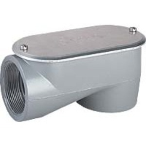 "Hubbell-Killark SLB-2 Conduit Body, Type: LB, Size: 3/4"", SLB Series, Aluminum"