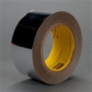 "3M 8437-2""X72YDS Metalized Film Tape, 2"" x 72YDS, Silver"