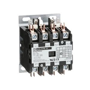 8910DPA24V14 AC DP CONT, 25A,4P,24V/60HZ