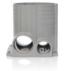 Leviton FBBOX-GY 2-Gang Concrete Floor Box System
