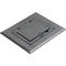 Arlington FLBC8510BL PLASTIC ONE GANG FLOOR BLACK