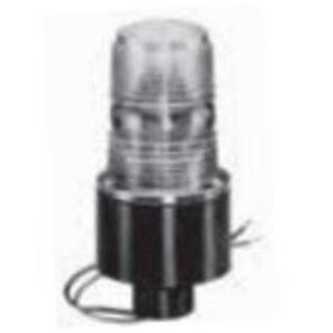 Maxi-Signal Products 490S-120T-A Hazardous Location Strobe, 12 - 80 VDC, 0.4A, Amber