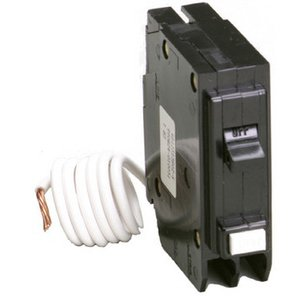 Eaton GFCB120 Breaker, 20A, 1P, 120V, 10 kAIC, Type BR Ground Fault (Replaced by GFTCB120)