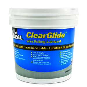 Ideal 31-381 ClearGlide Wire Pulling Lubricant - 1 Gallon Bucket