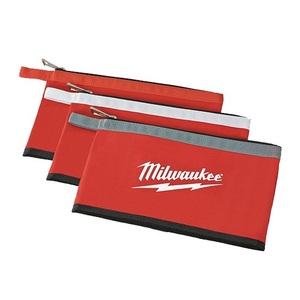 Milwaukee 48-22-8193 3 Pk Zipper Pouches