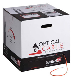 Optical Cable DX012KALT9QP FIBER OPTIC CABLE 12STR 50UM LO 10GIG AQUA IN/OUT