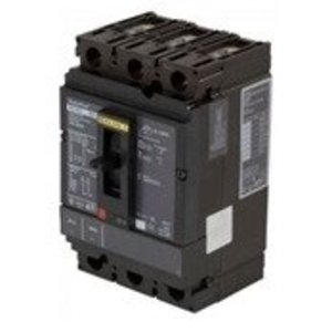 Square D HDL36080LV Breaker, Molded Case, 80A, 3P, 600VAC, 25-14kAIC, PowerPact