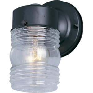 Maxim Lighting 92001CLBK 1-Light Outdoor Wall Mount Lantern, 60W, 120V