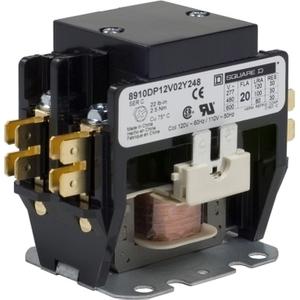8910DP12V02Y248 CONTACTOR 600VAC 20AMP D