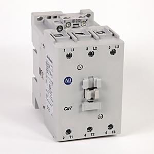 Allen-Bradley 100-C97D10 Contactor, IEC, 97A, 3P, 120VAC, 1NO