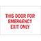 22503 DOOR SIGN