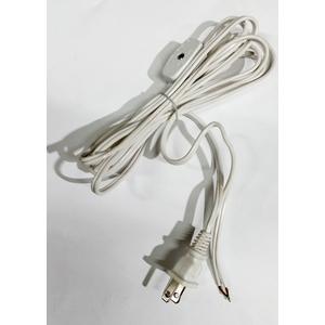 F6045 WH LAMPCORD 18GA HANKED 8 SPT1