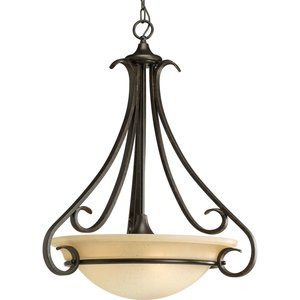 Progress Lighting P3847-77 3-100w Invrted Pendant