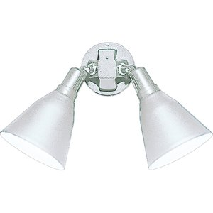 Progress Lighting P5203-30 Floodlight, Swivel, 2 Lamp, PAR 38