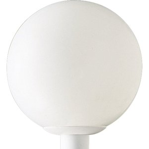 Progress Lighting P5426-60 Globe, Outdoor, 1 Light, 100W, White