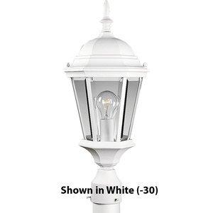 Progress Lighting P5482-31 Post Lantern, Outdoor, 1-Light, 100W, Textured Black