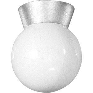 Progress Lighting P5616-16 1-Light, 60W, 120V, Ceiling Fixture, Cast Aluminum