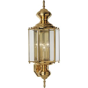 Progress Lighting P5730-10 3-60w Cand Wall Lantern