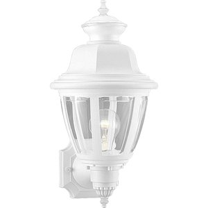 Progress Lighting P5737-30 Lantern, Outdoor, 1 Light, 60W, White