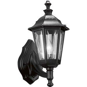 Progress Lighting P5826-31 Wall Lantern, Outdoor, 1-Light, 75W, Black