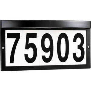 Progress Lighting P5968-31WB Address Light Fixture, 5W, 120V, Black