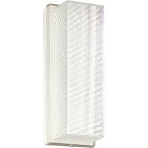 Progress Lighting P7124-68 Wallpack, Compact Fluorescent, 1 Light, 13W, 120V, White