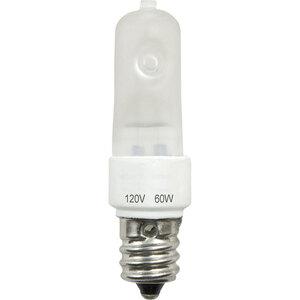 Progress Lighting P7807-01 Halogen Linear Lamp, Single-Ended, T4, 60W, 120V