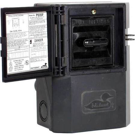 Midwest - P035F, Pullout Type - Non-Metallic, Air Conditioner Disconnects,  Safety Switches /, Power Distribution - Platt Electric SupplyPlatt Electric Supply
