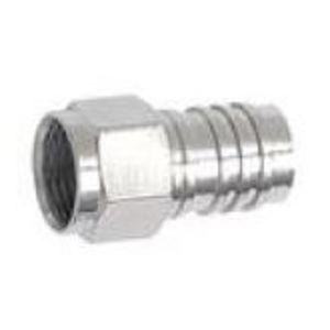 """Quest CFC-7114 RG6, F Connector, Crimp-On, F56ALM, 1/2"""" Ring"""