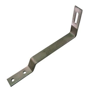 Quickscrews International 17540 90° Flat Tile Roof Hook, for Side Mount Rails