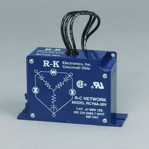 "R-K Electronics RCY6A-30V Surge Protection, 3PH, Varistor, 220 Ohms, 600VAC, 30 "" Leads"