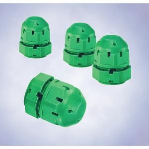 R. Stahl 8162004020 Breather Gland With Locknut, Thread: M25 x 1.5, Non-Metallic