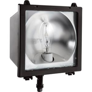 RAB EZHH150PSQ Flood Light, Pulse Start Metal Halide, 150W, 120-277V, Bronze