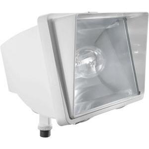 RAB FFH50W Future Flood 50w Mh 120v Npf And Lamp White