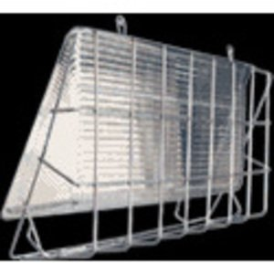 RAB GDWP2W Wire guard for WP2 Wallpack, Stainless Steel