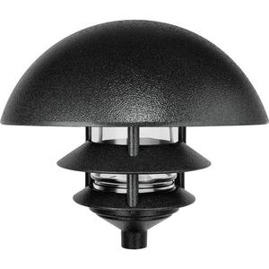 RAB LLD3B Lawn Light Dome 3 Tier Incandescent Black