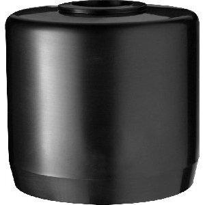 "RAB MCAP3B Mighty Cap, Aluminum, Black, 1/2"" Threaded Hole"