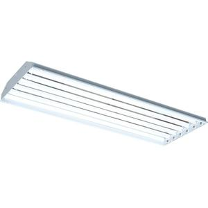 RAB RB6T5 Fluorescent High Bay Fixture, 4', 6-Lamp, T5HO, 54W, 120-277V