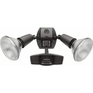 RAB STL110R Motion Sensor/Light, Stealth, 1000W, Bronze