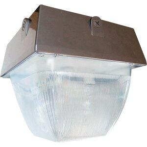 RAB VAN5HH150PSQW Vandalproof 12 X 12 Ceiling 150w Mh Hpf + Lamp White