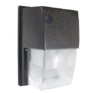 RAB WPTF26 Wallpack, Compact Fluorescent, 1 Light, 26W, 120-277V, Bronze