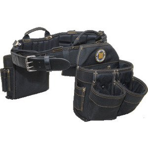 Rack-A-Tiers 43242 9 Pocket Bag/Belt Combo - Size: Medium