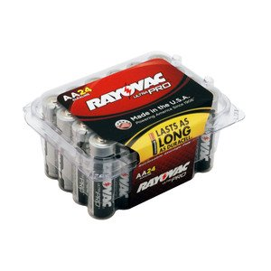 Rayovac ALAA-24PPJ 1.5V AA Battery - 24-Pack