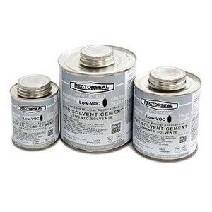 Rectorseal 55948 PVC Cement, 1 Quart