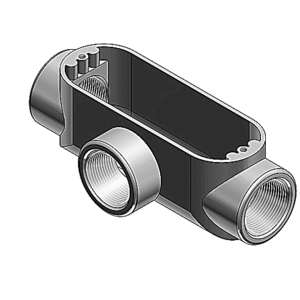 Red Dot AT-1 1/2 INCH RIGID T CONDUIT BODY