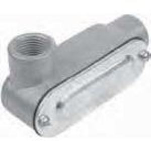 """Red Dot DALL-5-CG Conduit Body with Cover, Type LL, 1-1/2"""", Die Cast Aluminum"""