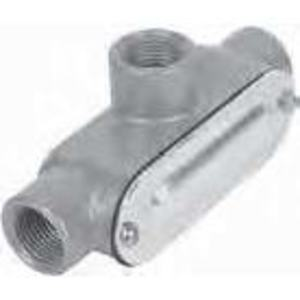"""Red Dot DAT-8-CG Conduit Body with Cover, Type T, 3"""", Die Cast Aluminum"""