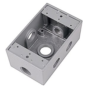 Red Dot IH6S2-1 1/2inch D-T DEV BX 6 HOLE SIDE