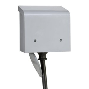 Reliance Controls PBN20 Power Inlet Box, 20A, 125/250V, NEMA 3R, L14-20